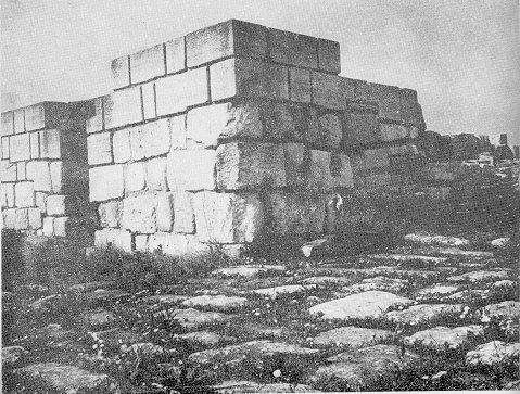 Pliska, the Western gate
